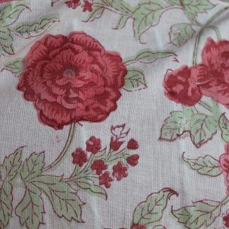 Faded Rose Short  Jaipur Dressing Gown